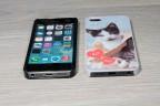 Coque iPhone 5/5s personnalisée avec côtés rigides unis
