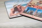 Tapis de souris photo personnalisé en mousse