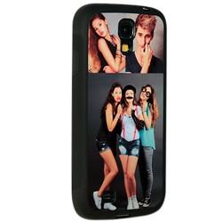 Coque Galaxy S4 personnalisée avec côtés silicones unis