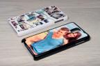 Coque Galaxy Note 3 personnalisée avec côtés rigides unis
