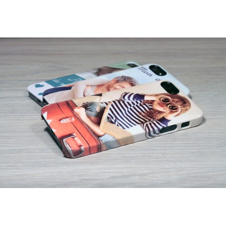 Coque rigide iPhone 5/5s personnalisée avec côtés imprimés