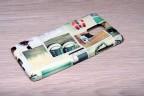 Coque silicone Galaxy Note 4 personnalisée avec côtés imprimés