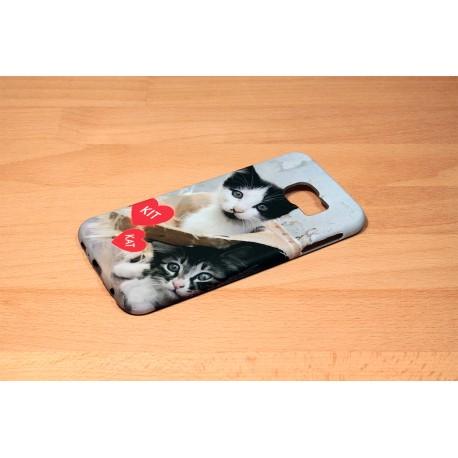 Coque silicone Galaxy S6 personnalisée avec côtés imprimés