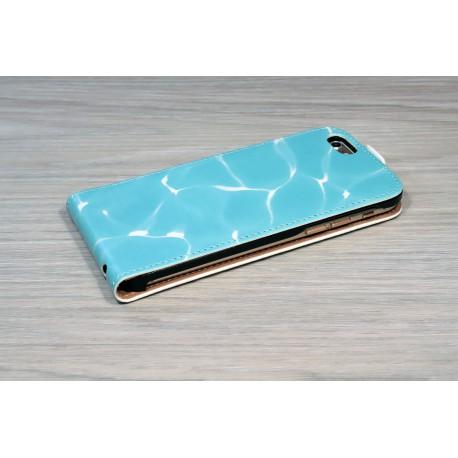 Etui iPhone X XS personnalisé à clapet en cuir