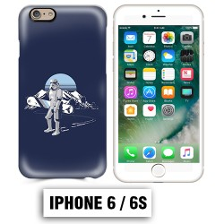 Coque iphone 6 6S Star Wars snowboard