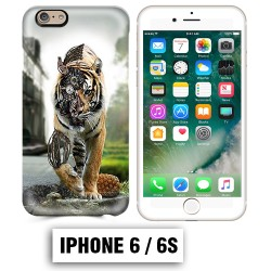Coque iphone 6 6S tigre robot