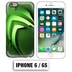 Coque iphone 6 6S Energy Monster vert