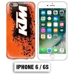 Coque iphone 6 6S moto cross KTM sport