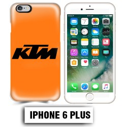 Coque iphone 6 PLUS moto cross KTM