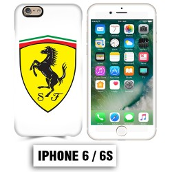 Coque iphone 6 6S logo Ferrari Scuderia