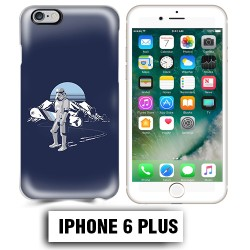 Coque iphone 6 PLUS Star Wars snowboard