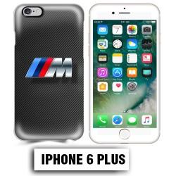 Coque iphone 6 PLUS BMW M Power carbone