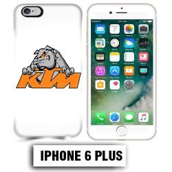 Coque iphone 6 PLUS moto cross KTM Bulldog