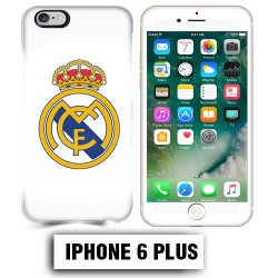 Coque iphone 6 PLUS foot REAL MADRID