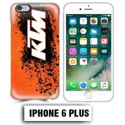 Coque iphone 6 PLUS moto cross KTM sport