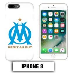 Coque iphone 8 équipe de Marseille OM foot