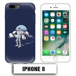 Coque iphone 8 Star Wars snowboard