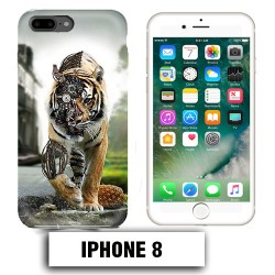 Coque iphone 8 tigre robot