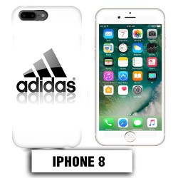 Coque iphone 8 logo Adidas