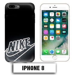 Coque iphone 8 logo Nike neon