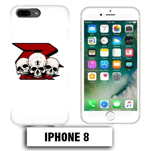 iphone 8 coque tete de mort