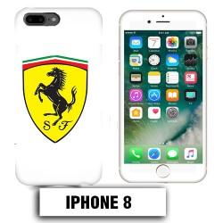 Coque iphone 8 logo Ferrari Scuderia