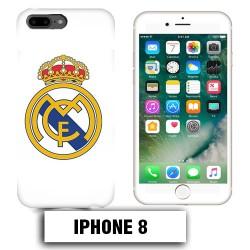 Coque iphone 8 foot REAL MADRID