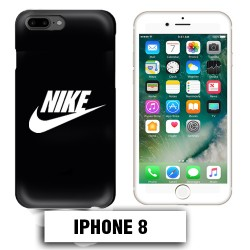 Coque iphone 8 logo Nike noir