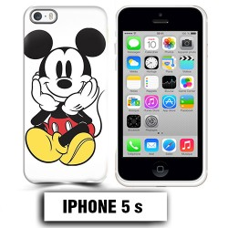 Coque iphone 5 5S Mickey Mouse couleur