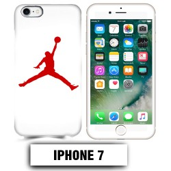 Coque iphone 7 air Jordan basket 23 rouge