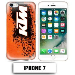 Coque iphone 7 moto cross KTM sport