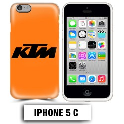 Coque iphone 5C moto cross KTM