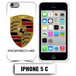Coque iphone 5C logo Porsche