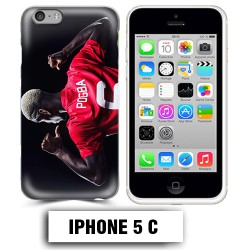 Coque iphone 5C Foot Pogba