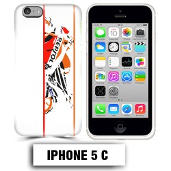 Coque iphone 5C moto course Repsol