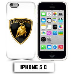 Coque iphone 5C logo Lamborghini