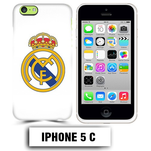 coque iphone 5c foot real madrid