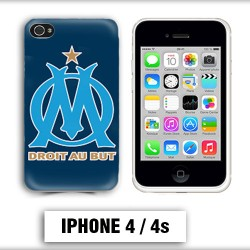 Coque iphone 4 OM Olympique de Marseille