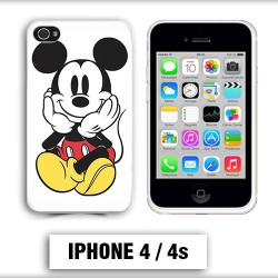 Coque iphone 4 Mickey Mouse couleur