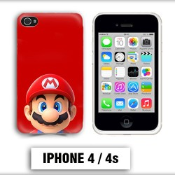 Coque iphone 4 Mario Bross
