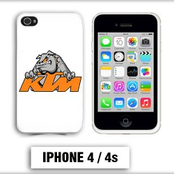 Coque iphone 4 moto cross KTM Bulldog