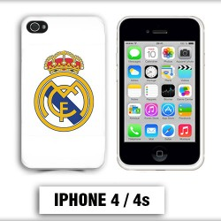 Coque iphone 4 foot REAL MADRID