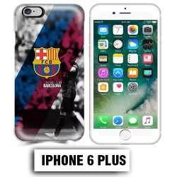 Coque iphone 6 PLUS Foot FCB Barcelonne Messi