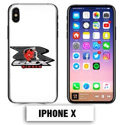 Coque iphone X Moto Suzuki GSXR