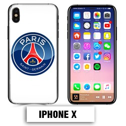 Coque iphone X Foot PSG