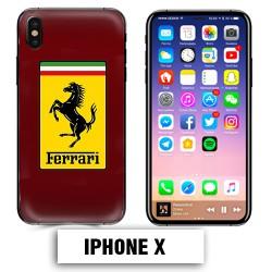 Coque iphone X voiture Ferrari 458 488