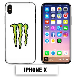 Coque iphone X Energy Monster