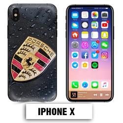 Coque iphone X Porsche Carrera 911