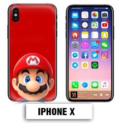 Coque iphone X Mario Bross
