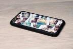 Coque iPhone 6 personnalisée avec côtés silicones unis